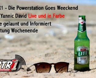 RTR1 – Die Powerstation Goes Weeckend Mit Yannic David LIVE