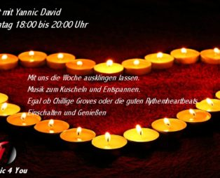 Candle light Live mit Yannic David