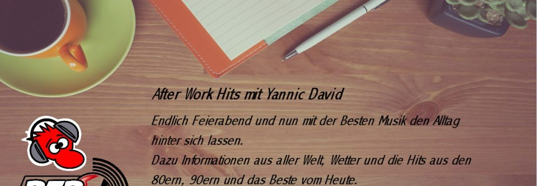 After Work Hits Live mit Yannic David